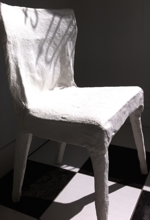 cast paper chair