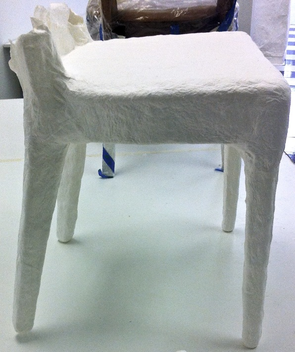 cast chair in progress