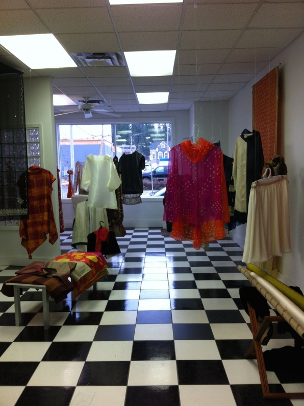 Faux Boutique installation view