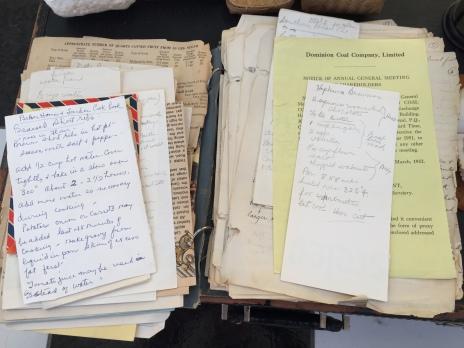 Jean's housekeeping notebook