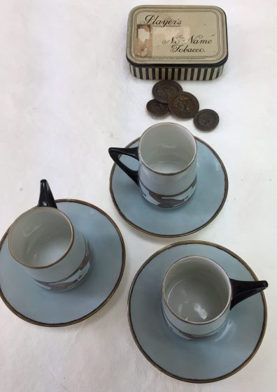 Rita's hand made coffee set