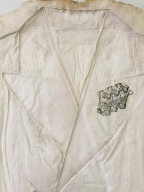 Jeans Day Suit detail