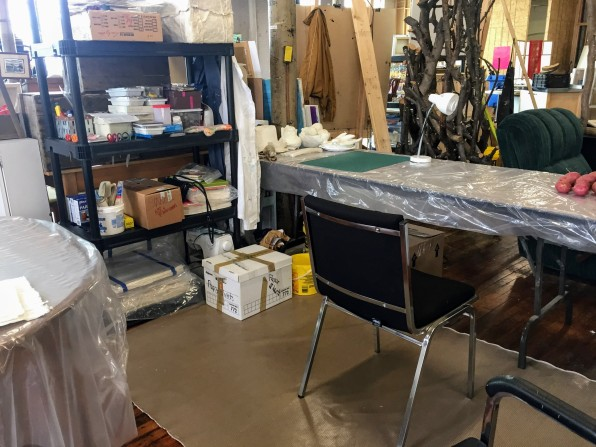 studio space, The Cotton Factory